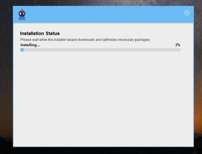 Download Andy Offline Installer