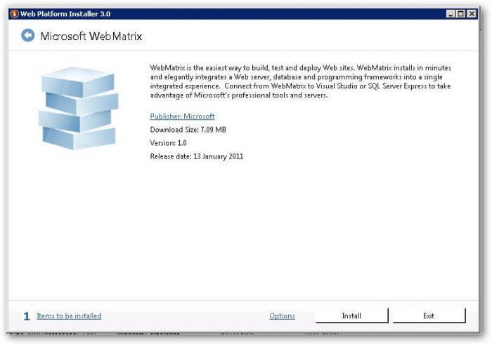 Download WebMatrix Offline Installer