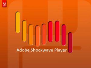 Download Adobe Shockwave Player Offline Installer