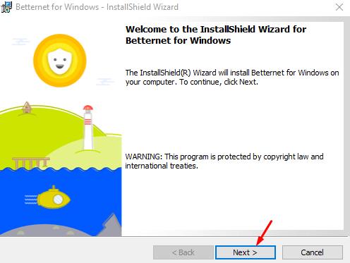 Betternet for Windows
