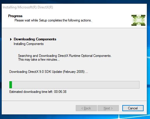 DirectX 10 Offline Installer Windows PC
