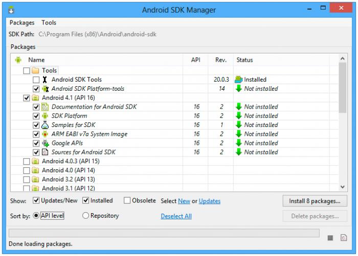 Download Android SDK Offline Installer