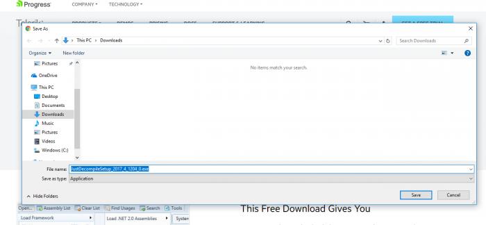 Download JustDecompile Offline Installer