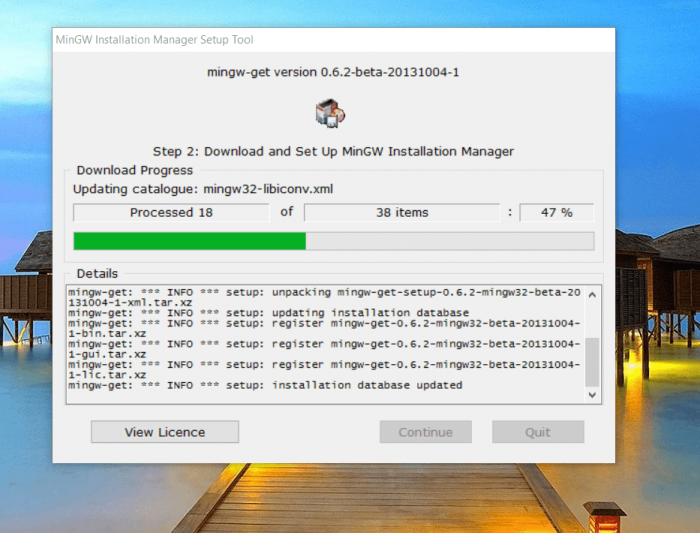 MinGW Offline Installer