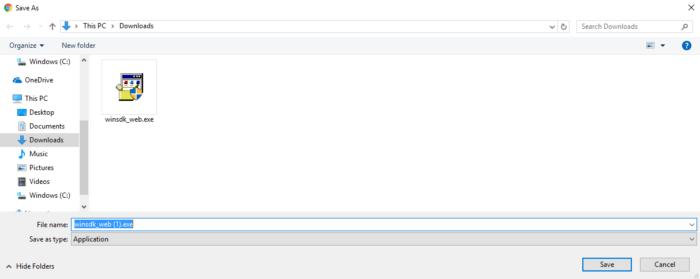 Download Windows SDK Offline Installer