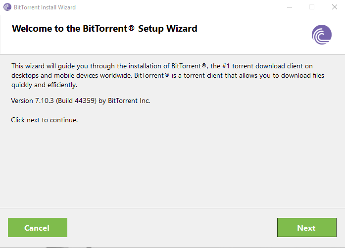 Download BitTorrent Offline Installer